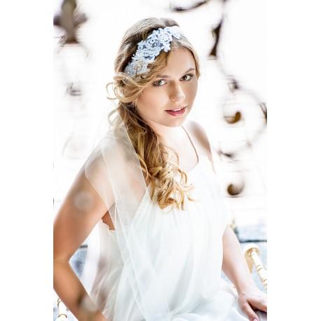 Wedding lace headband