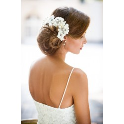 Wedding lace hair vine