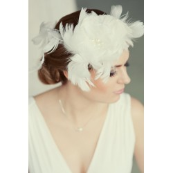 Wedding hair flower crown