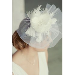 Vintage style wedding veil