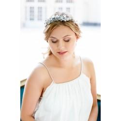 Delicate Crystal bridal headband