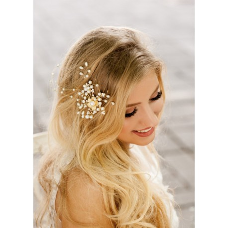Hair vine for weddings