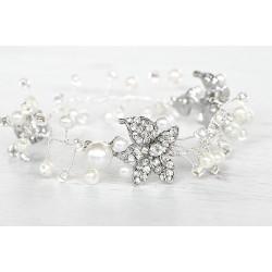 Ivory pearls bracelet