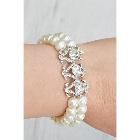 Bridal pearls bracelet